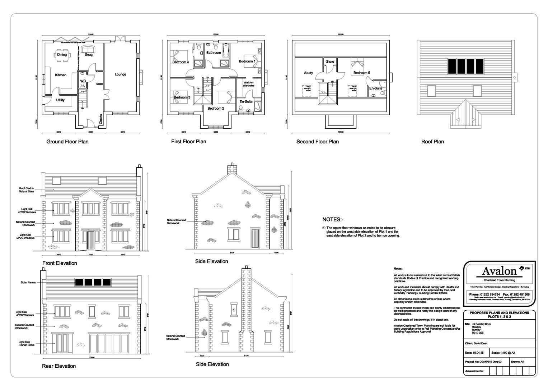 5 Bedroom Building Plot Land For Sale - Main Image